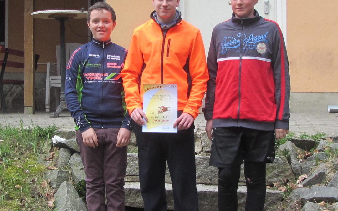 Nachwuchs-Sachsen-Cup im MTBO