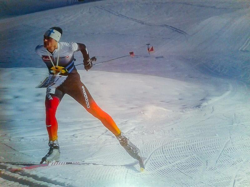 Ski-OL-DM -Mittelstrecke in Sulzberg-Österreich